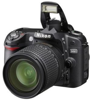Nikon D80 Digital SLR Camera Review and Features