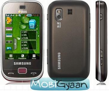 samsung mobile b5722