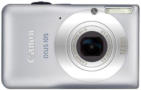 Canon IXUS 105 IS Digital Camera
