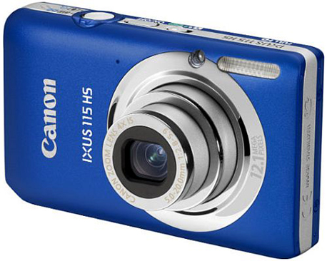 Canon IXUS 115 HS Digital Camera