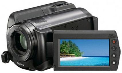 Sony HDR XR 100 (80GB) HDD Handycam Digital Camera