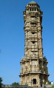 Victory tower at Chittorgarh fort